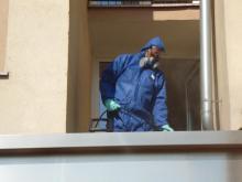 Specjalistyczne sprzątanie i dezynfekcja balkonu