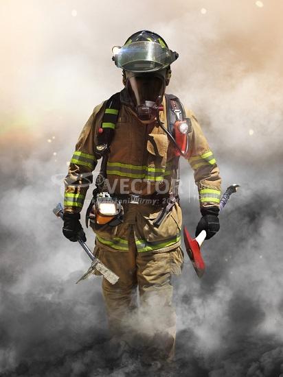 sprzątanie po pożarach