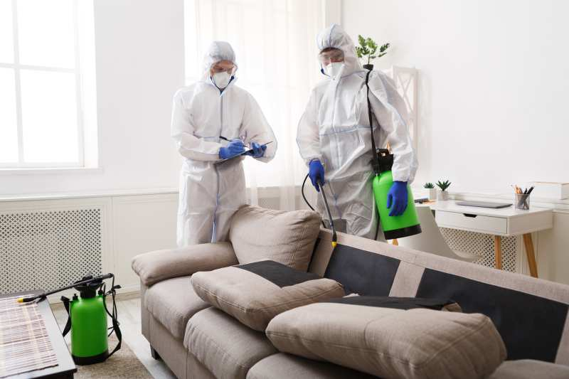dezynfekcja domu po koronawirusie